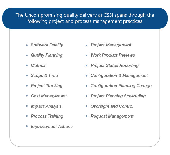 CSSI Expertise list_CSSI Corporate Site